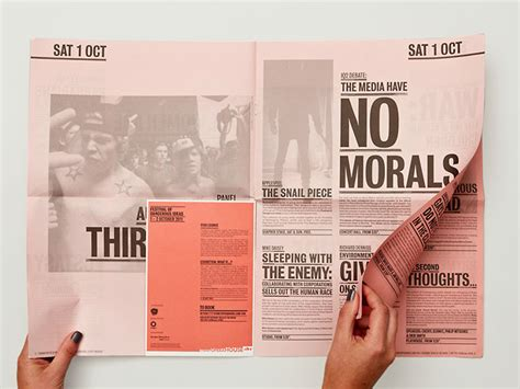 stunning newspaper layout designs web graphic