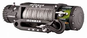 12 000lbs Monster Winch With Synthetic Rope