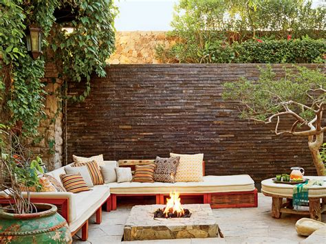 outdoor pit designs outdoor pit ideas and designs coastal living