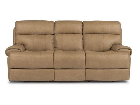 flexsteel leather reclining sofa flexsteel living room leather power reclining sofa 1441