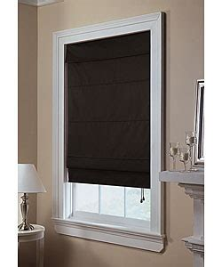black roman shades  grasscloth wallpaper
