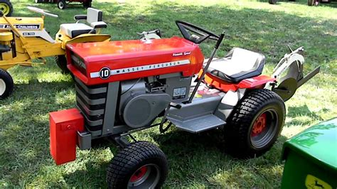 Garden Tractor by G W Antique Lawn Garden Tractors