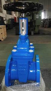 China Non-rising Stem Gate Valve With Position Indicator
