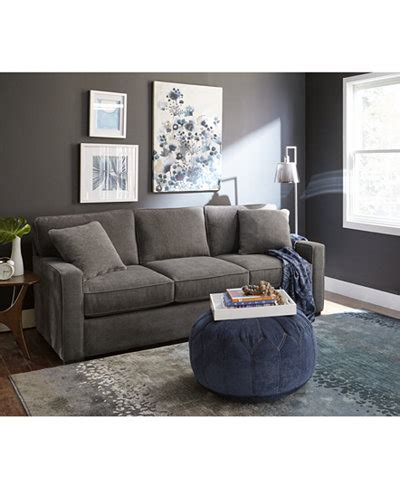Living Room Furniture At Macy S by Radley Fabric Sofa Collection Created For Macy S