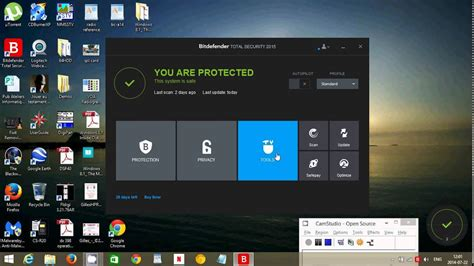fixit bitdefender total security  antivirus firewall