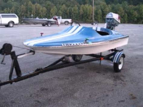 Used Mini Boats For Sale by G W Invade Speed Boat Mini Cruser Runabout 10 Ft 40 Hp