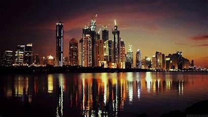 Cinemagraph Dubai Lights Night Animated Attractions Gifs