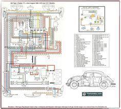 Wiring Diagram In Color 1964 Vw Bug Beetle Convertible The by 66 And 67 Vw Beetle Wiring Diagram Vw Beetles Beetles