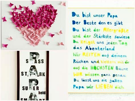 Vatertags Geschenk Ideen by Bilder Zum Muttertag Und Vatertag Basteln 3 Diy Ideen