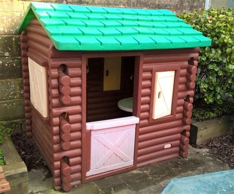 tikes log cabin playhouse tikes log cabin playhouse in worthing sold