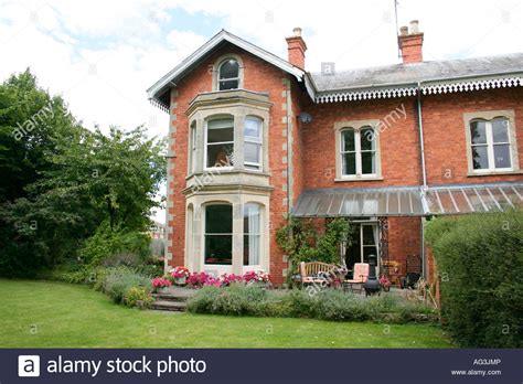 Victorian style house Wantage, Oxfordshire, England Stock