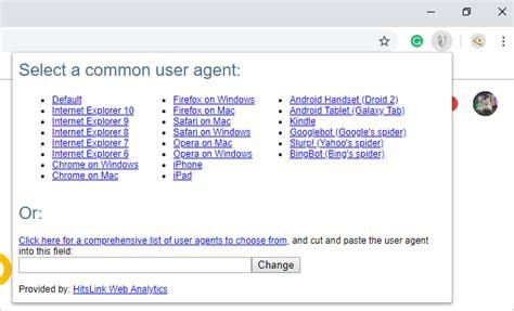 switcher agent user chrome webnots