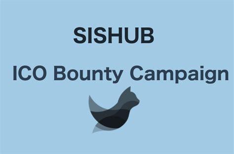 SISHUB ICO Bounty   ICO list and ICO rating