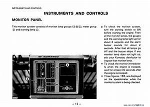 Komatsu Motor Grader Gd625a