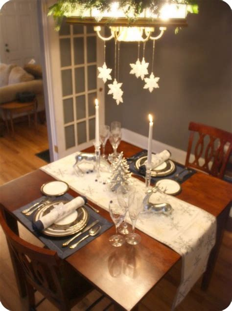 laying a christmas table simple table setting