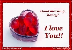 Good morning honey!