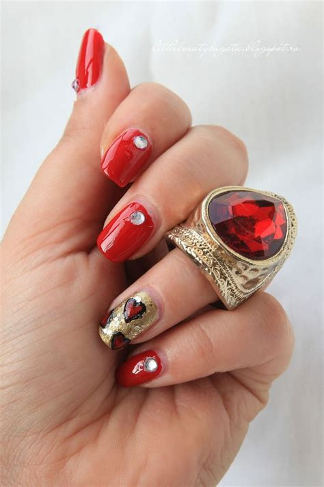 sexy red nail designs   season pretty designs