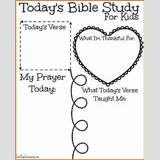 89 Free Printable Bible Study Worksheets Sowtemplate