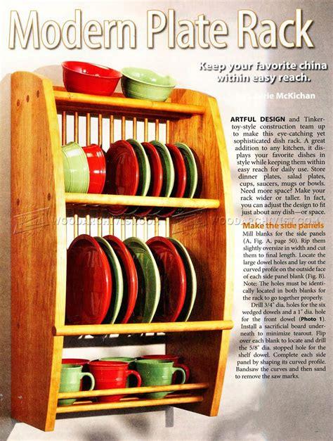 plate rack plans plate racks modern plates woodworking plans shelves