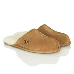 ugg s scuff slipper on sale ugg chestnut mens scuff mens slipper