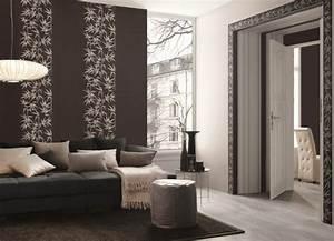 Tapeten Modernes Wohnen : papier peint intiss 25 designs originaux pour le salon ~ Frokenaadalensverden.com Haus und Dekorationen