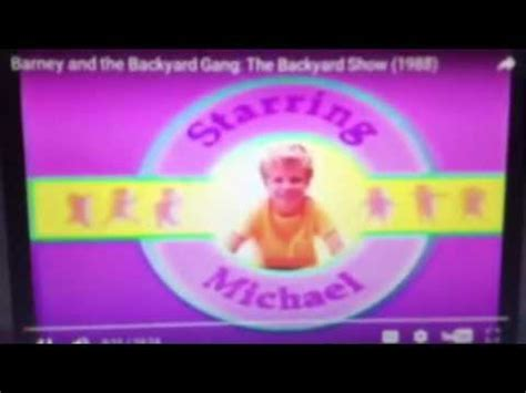 Barney And The Backyard Theme Song by Barney And The Backyard Theme Song 1963 1990