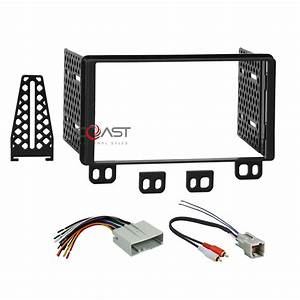 Car Radio Stereo 2 Din Dash Kit Wire Harness For 2003