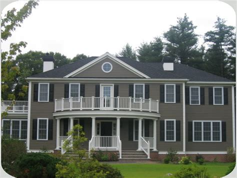 colonial home johnson construction company custom homes remodeling