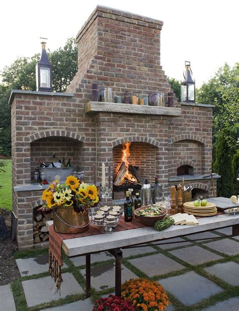 Backyard Pizza Oven by Wood Burning Pizza Oven Fireplace It All