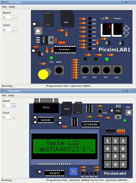 pic microcontroller simulator program electronics