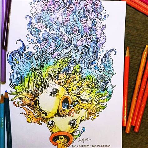 artist kerby rosanes presents doodle invasion
