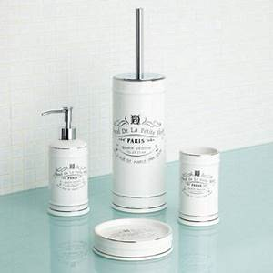 Debenhams white paris bathroom accessories at debenhams for Beekman home bathroom accessories