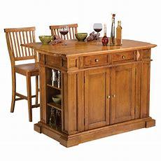 Home Styles Cottage Oak Finish Large Kitchen Island