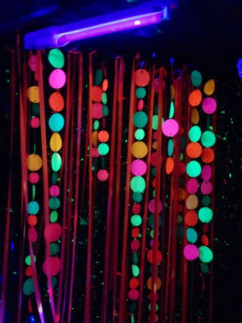 photo booth background glow party disco birthday