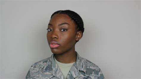 Natural Hair|military Or Professional Hairstyles For Women
