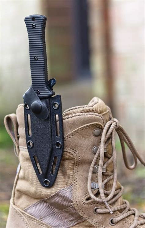 knife boot blade knives tactical tolerance zero sheath fixed survival boots inch dagger knifecenter handles holster g10 s30v cool gear