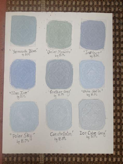 painted benjamin grey interior paint sles