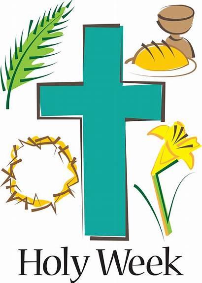 Holy Week Calendar Church