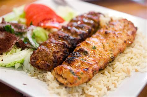 turkish kebab turkish kebabs and salads at mangal kebab serious eats