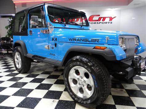 jeep islander 1990 jeep wrangler islander 4x4 special edit hardtop