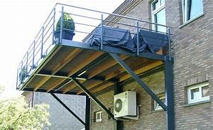 Terrasse Metallique Suspendue : terrasse suspendue en acier jardin pinterest terrasse suspendue suspendu et acier ~ Dallasstarsshop.com Idées de Décoration