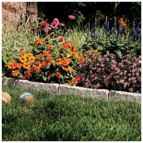 Gartenumrandung Aus Stein by Suncast Resin Faux Border Edging Lawn Landscape