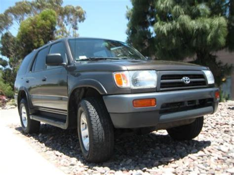 best car repair manuals 2001 toyota 4runner user handbook find used 1997 toyota 4runner 2 7l manual transmission 4wd 1owner only 72k clean title in san