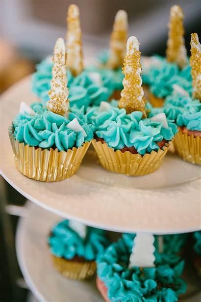 Unicorn Birthday Cupcakes Themed Unicornbirthdayparty Supplies Pretty