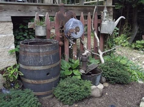 the best primitive outdoor decorating ideas