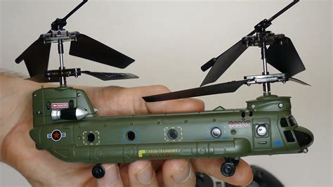 mini chinook rc helicopter syma  youtube