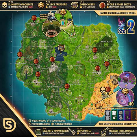 Fortnite challenges CHEAT SHEET: How to solve EVERY season
