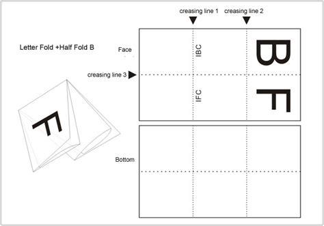 A3 Size Folding Types A3 Size Folding Types