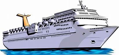 Ship Cruise Clip Carnival Vector Clipground