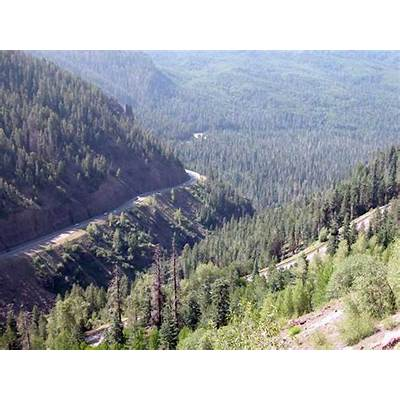 Motorcycle ColoradoPasses and Canyons : Wolf Creek Pass